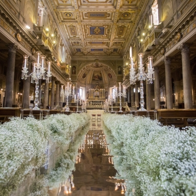 AMAZING MIRRORED AISLE FOR A GLAM WEDDING - Boomker Sound