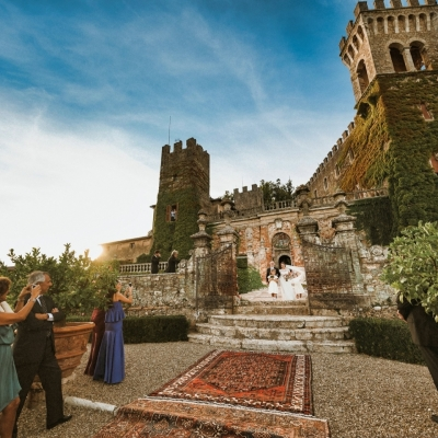 WEDDING IN AN HISTORIC ITALIAN CASTLE - Boomker Sound
